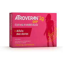 Atroveran Dip 1g Contém 20 Comprimidos