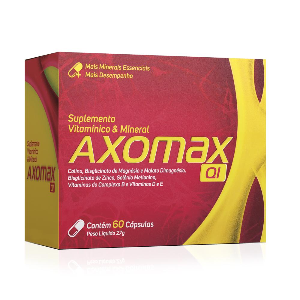 Axomax QI Com 60 Cápsulas