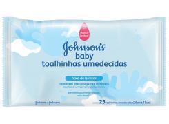 Toalhinhas Umedecidas Johnson's Baby Hora de Brincar Com 25 Unidades