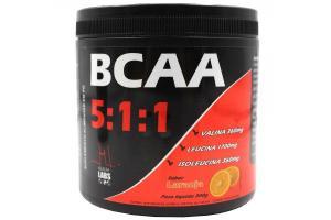BCAA 5:1:1 Sabor Laranja Com 300g Health Labs
