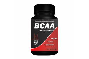 BCAA Com 240 Tabletes Health Labs