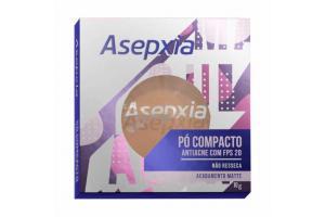 Pó Compacto Asepxia Bege Médio 10g