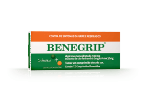 Benegrip Com 12 Comprimidos