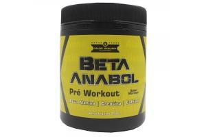 Beta Anabol Pré Workout Sabor Morango Com 250g Hard Builder Supplement