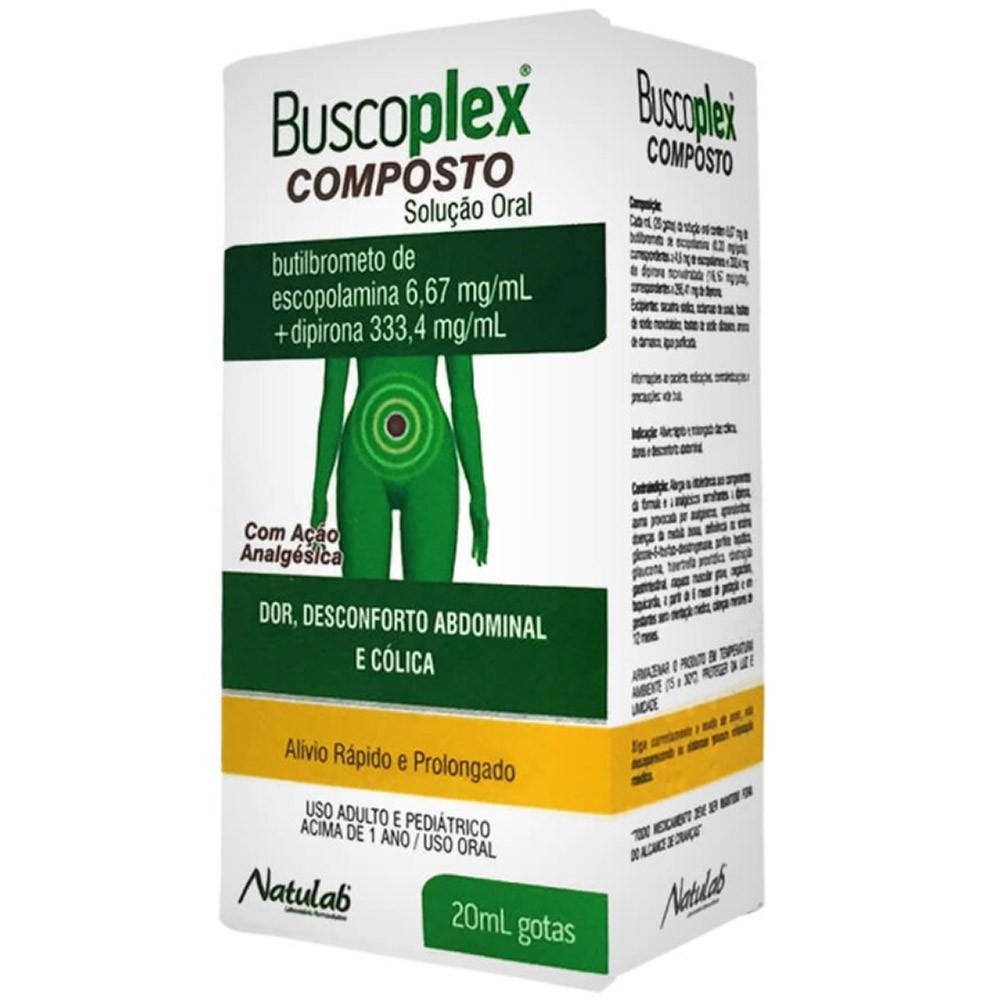 Buscoplex Composto Gotas 20mL