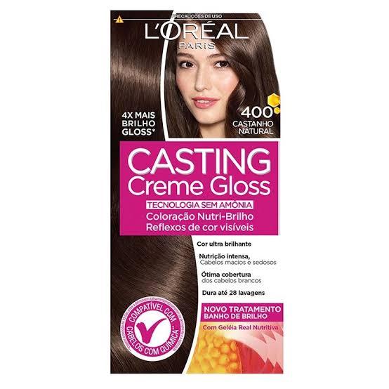 Tonalizante Casting Creme Gloss 400 Castanho Natural