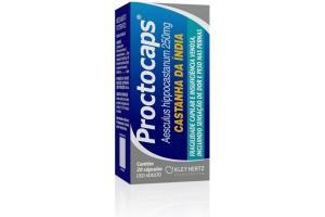 Proctocaps 250 mg Com 20 Cápsulas