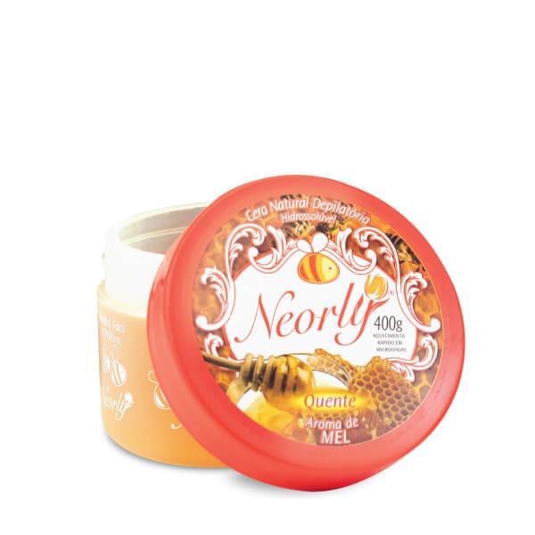 Cera Quente Depilatória Hidrossolúvel Aroma de Mel 400g Neorly