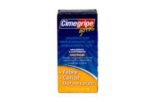 Cimegripe Gotas Sabor Laranja Contém 20ml