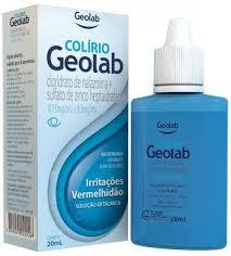 Colírio Geolab Conteúdo 20ml
