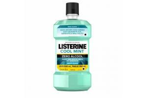Antisséptico Bucal Listerine Cool Mint Zero Álcool Leve 500ml Pague 350ml