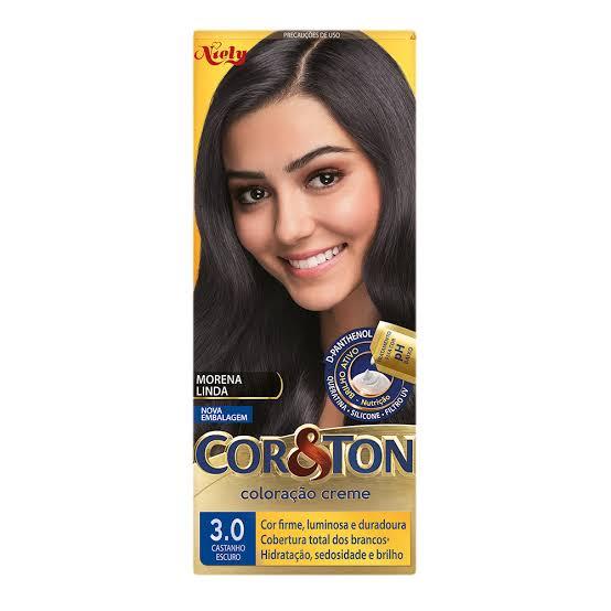 Tintura Cor & Ton 3.0 Castanho Escuro