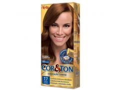 Tintura Cor & Ton 7.7 Marrom Dourado
