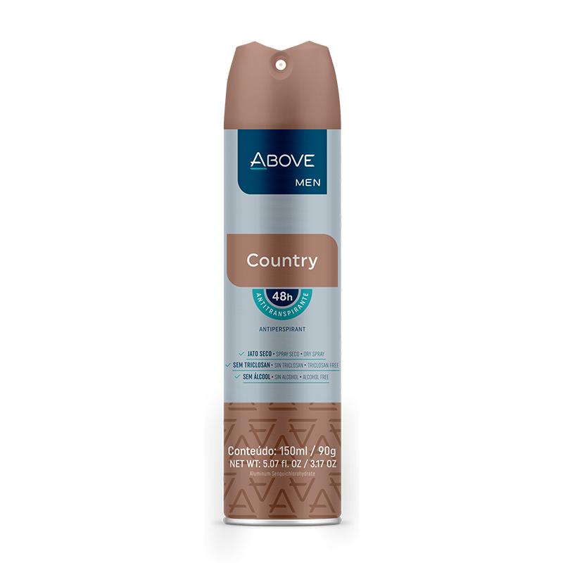 Desodorante Aerosol Above Country Men 150ml
