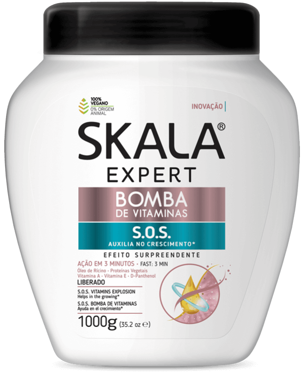 Creme de Tratamento Skala Bomba de Vitaminas 1kg