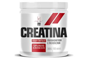 Creatina  Monohidratada Com 300g Health Labs