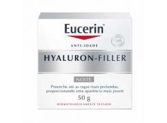 Creme Facial Anti-Idade Eucerin Hyaluron-Filler Noite 50g