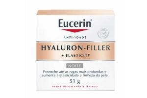 Creme Facial Anti-Idade Eucerin Hyaluron-Filler Elasticity Noite 51g