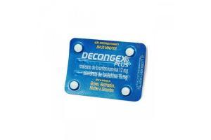 Decongex Plus Cartela Com 4 Comprimidos