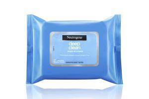 Lenços de Limpeza Neutrogena Deep Clean Com 25 Unidades