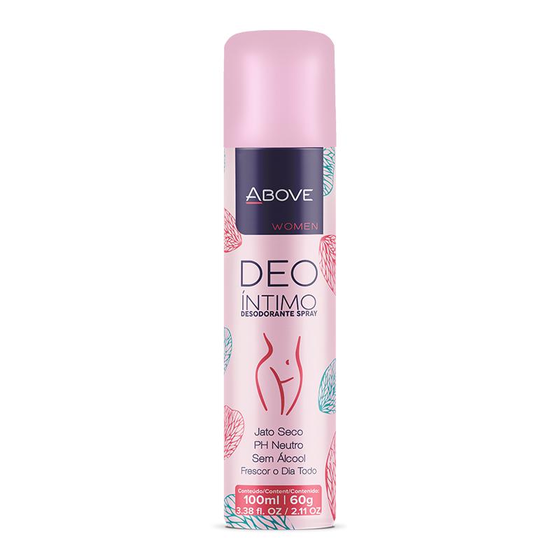 Desodorante Aerosol Above Intimo 100ml