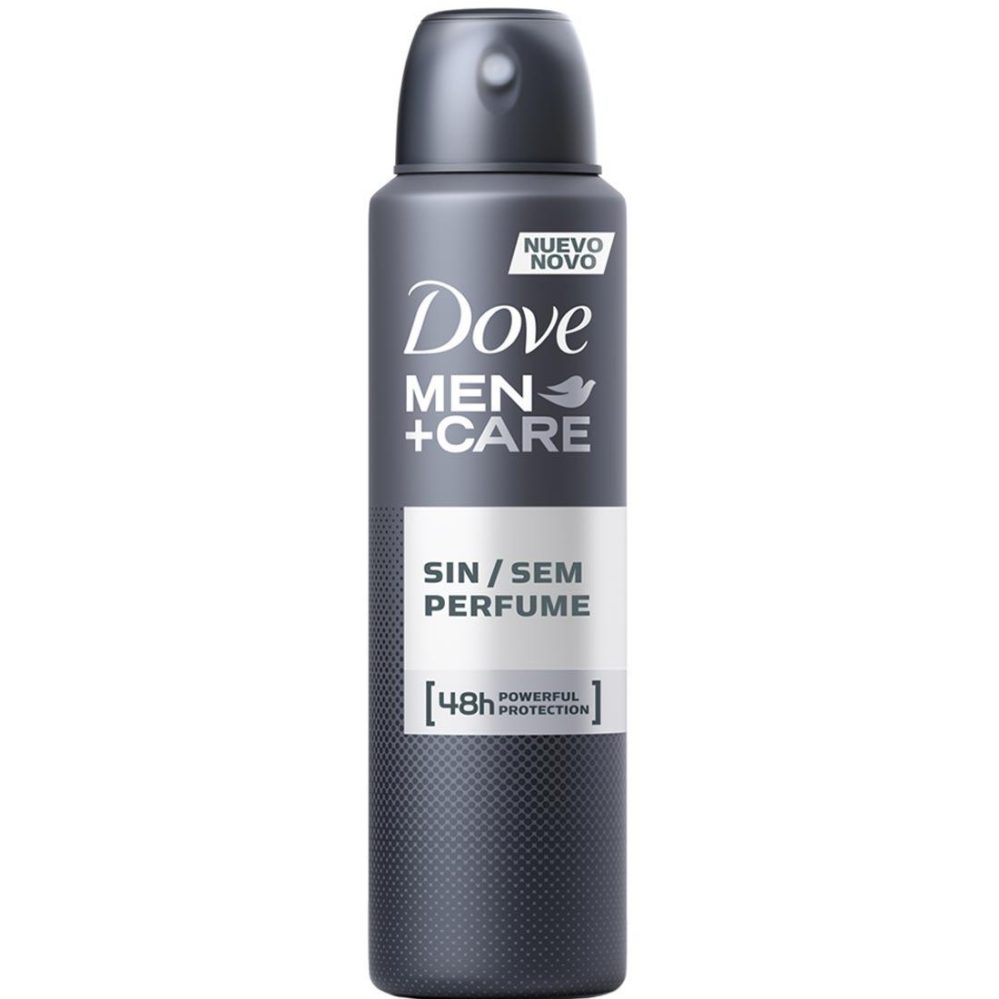 Desodorante Aerosol Dove Men Care Sem Perfume 150ml