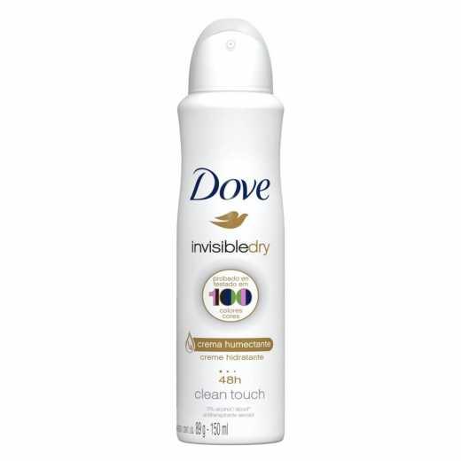 Desodorante Aerosol Dove Invisible Dry 150ml