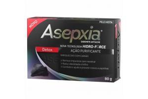 Sabonete Asepxia Detox 80g