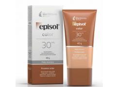 Protetor Solar Facial Episol Color FPS 30 Pele Morena 40g