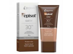 Protetor Solar Facial Episol Color FPS 30 Pele Morena Mais 40g