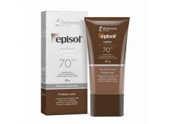 Protetor Solar Facial Episol Color FPS 70 Pele Morena Mais 40g