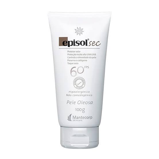 Protetor Solar Episol Sec FPS 60 Pele Oleosa 100g