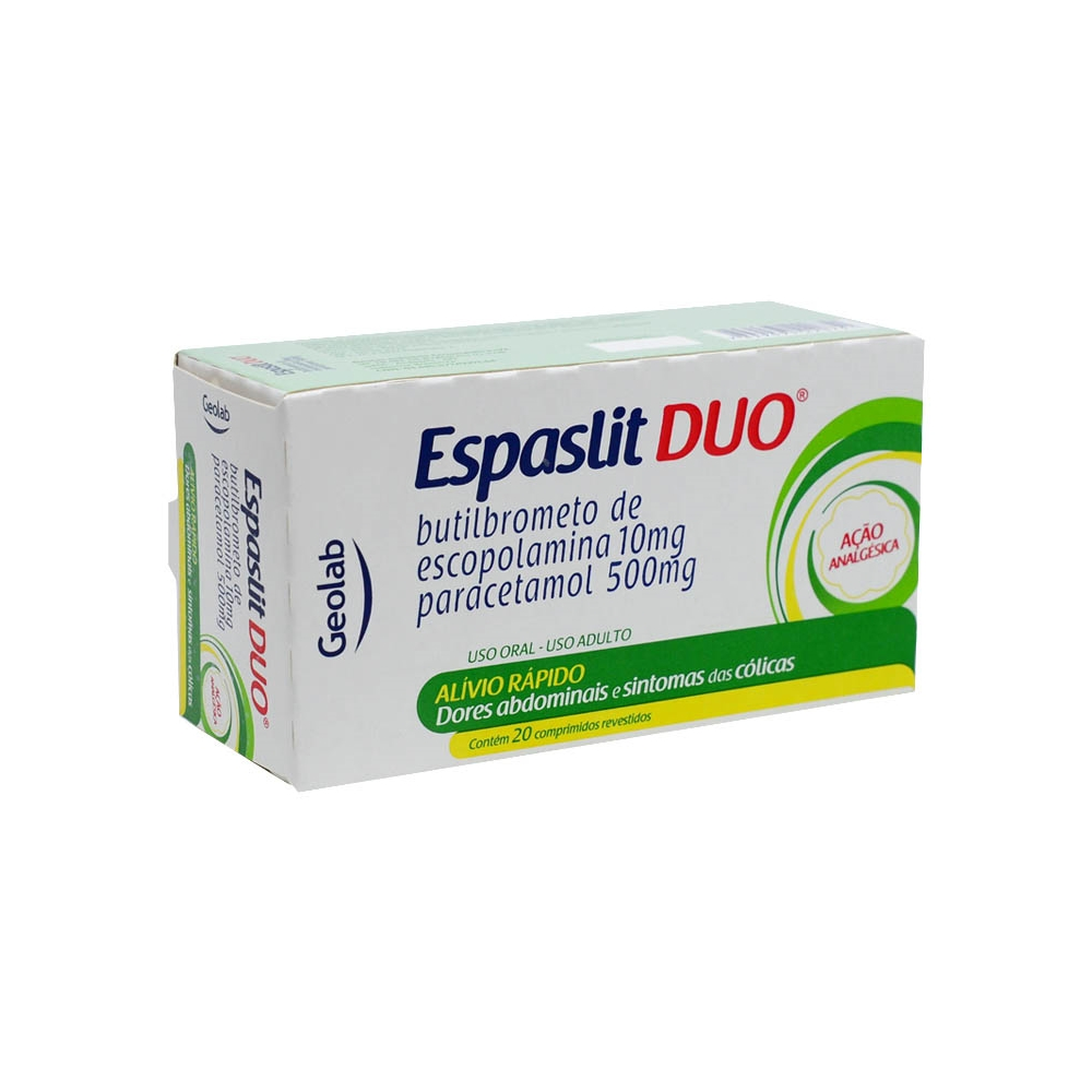 Espasli DUO Com 20 Comprimidos
