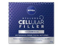 Creme Facial Noturno Nivea Cellular Filler Antissinais 51g