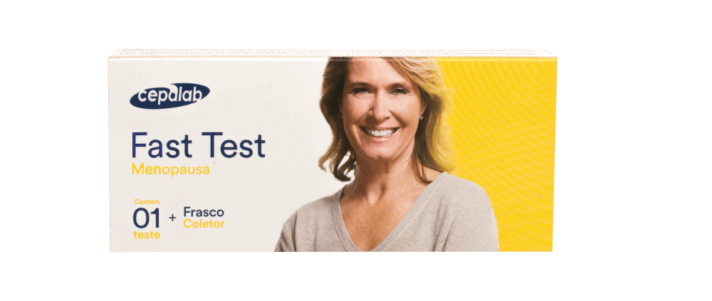 Fast Test Menopausa Contém 01 Teste