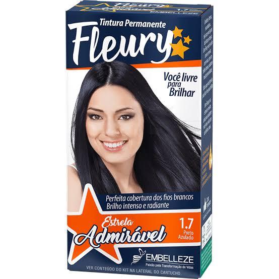 Tintura Fleury 1.7 Preto Azulado