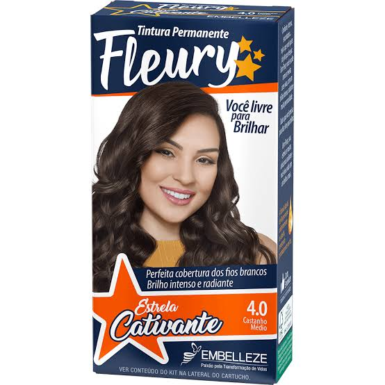 Tintura Fleury 4.0 Castanho Médio