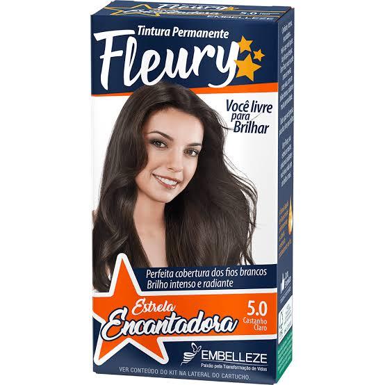 Tintura Fleury 5.0 Castanho Claro
