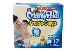 Fralda Calça MamyPoko G Com 17 Unidades