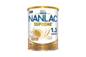 Nanlac Supreme 1+ Fórmula Infantil Nestlé Lata 800g
