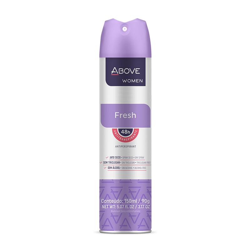 Desodorante Aerosol Above Fresh Women 150ml