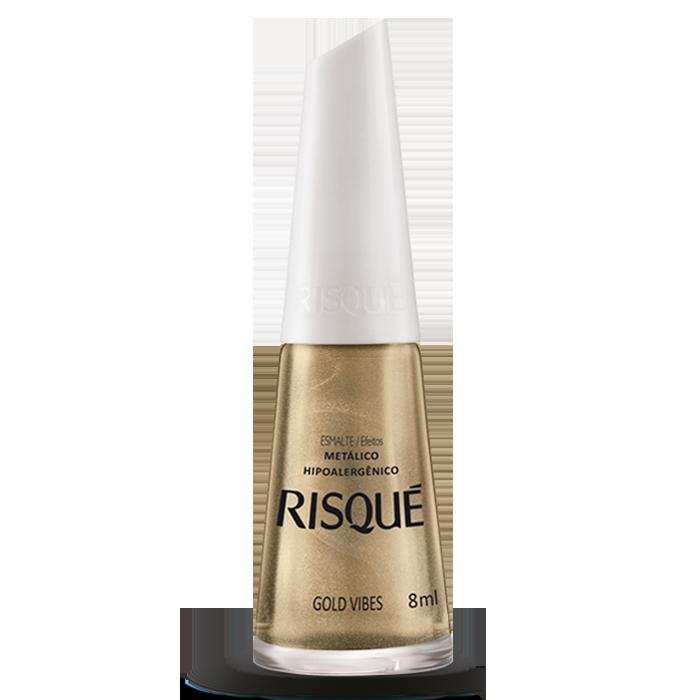 Esmalte Risqué Gold Vibes 8ml
