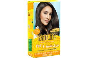 Creme Alisante HairLife Mel & Amêndoas