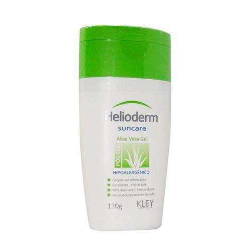 Gel Pós Sol Helioderm Com Aloe Vera 120 gramas