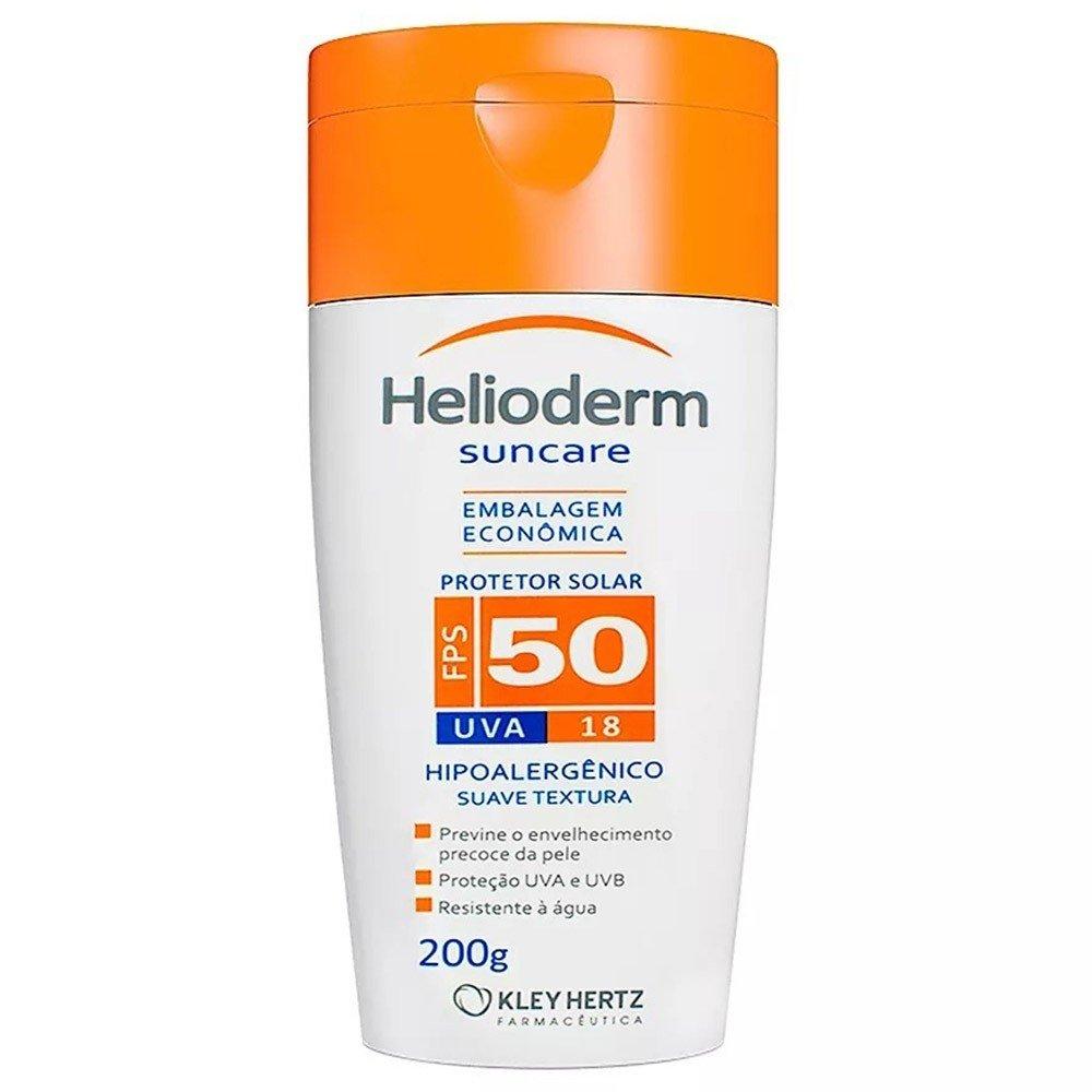 Protetor Solar Helioderm FPS 50 200 gramas