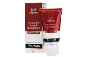 Hidratante Para Pés Ressecados Com Glicerina Neutrogena Norwegian 56g