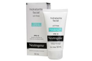 Hidratante Facial Oil Free Neutrogena FPS 15 50ml
