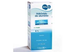 hidróxido de alumínio 6% Com 240ml EMS