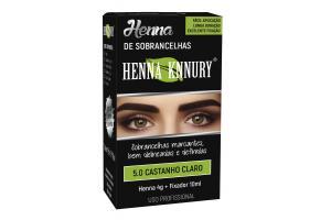 Henna Para Sobrancelhas Knnury 5.0 Castanho Claro
