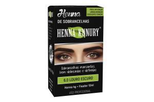 Henna Para Sobrancelhas Knnury 6.0 Louro Escuro